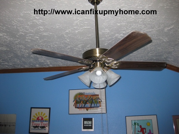 A Hampton Bay Ceiling Fan