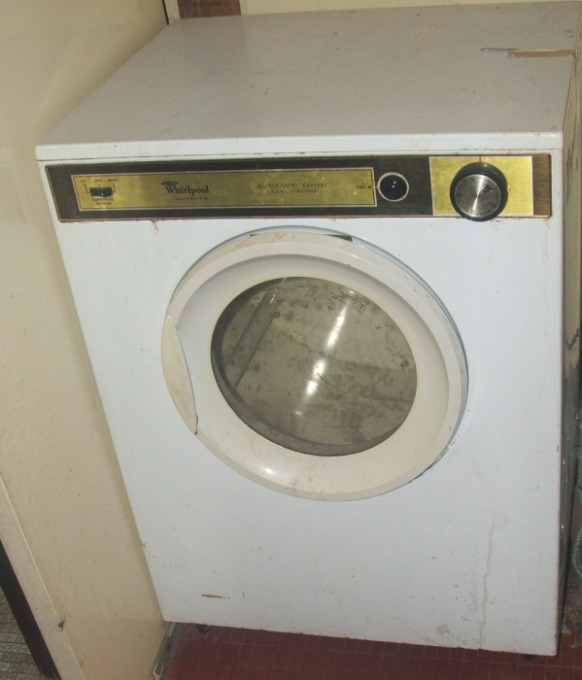 Free Dryer Repair Guide - Open the cabinet of newer 27 inch