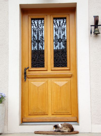 Installing A Prehung Door Hang An Interior Or Exterior Door Without Mortising Hinges I Can