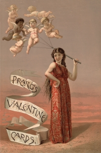 Vintage Prangs Valentine Day Card